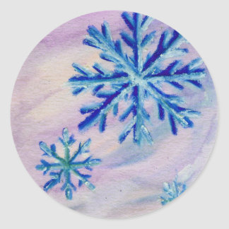 Snowflake ACEO Sticker