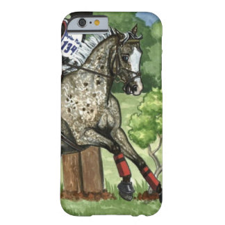Snowflake Appaloosa Eventer Original Horse Art Cas Barely There iPhone 6 Case