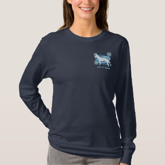 Snowflake Australian Cattle Dog Embroidered Shirt