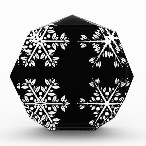 Snowflake Acrylic Award