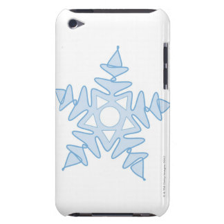 Snowflake Barely There iPod Cover