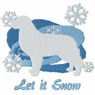 Snowflake Bernese Mountain Dog Embroidered Sweatshirt