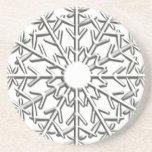 Snowflake Beverage Coaster