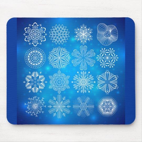 snowflake bl mouse pad
