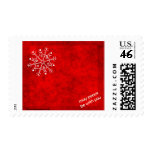 Snowflake Blessing Postage Stamp