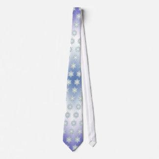 snowflake blizzard tie