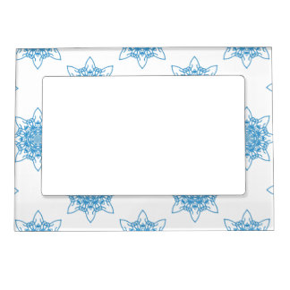 Snowflake Blue Magnetic Frame
