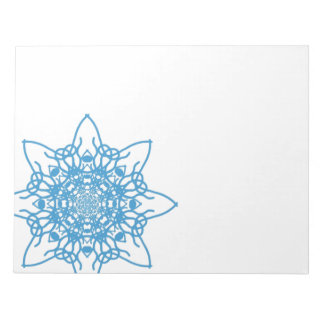 Snowflake Blue Scratch Pads