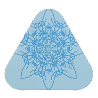 Snowflake Blue Speaker