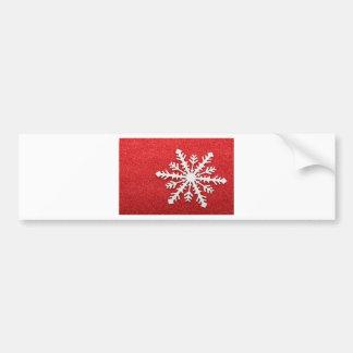 Snowflake Bumper Sticker