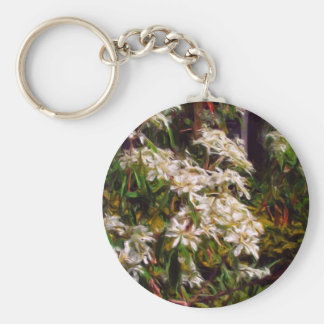 SnowFlake bush in Oils Keychain