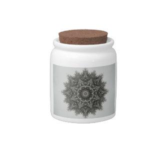 Snowflake Candy Jar