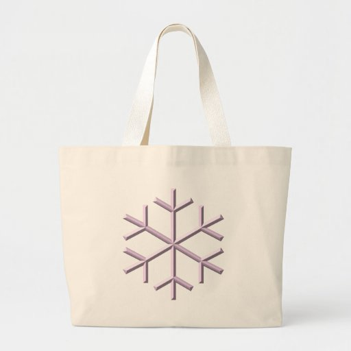 Snowflake Canvas Bags