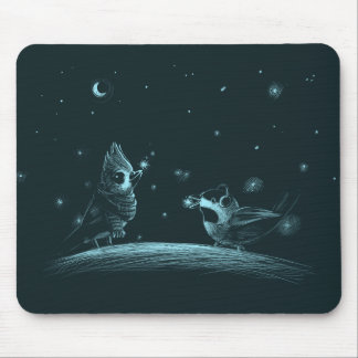 Snowflake Catchers Mouse Pad