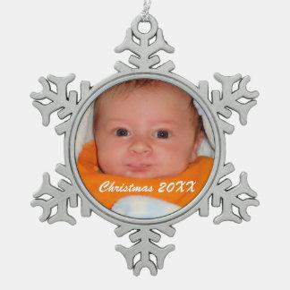 Snowflake Christmas Ornament - Make your own