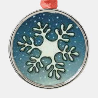 Snowflake Christmas Tree Ornament