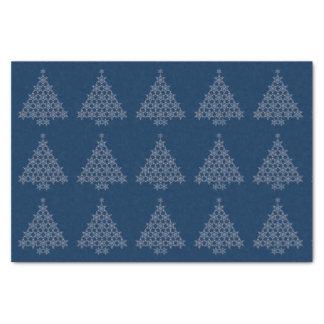 "Snowflake Christmas Tree Tissue Paper 10"" X 15"" Tissue Paper"