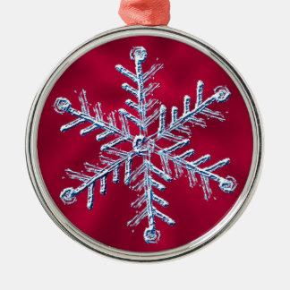 Snowflake Circular Ornament
