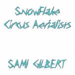 SnowFlake Circus AerialistsSAMI GILBERT Embroidered Hoodie