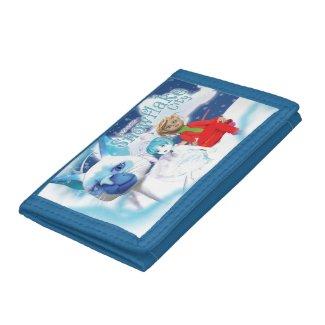 Snowflake City - Tri-Fold Wallet