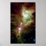 Snowflake Cluster & Cone Nebula Poster