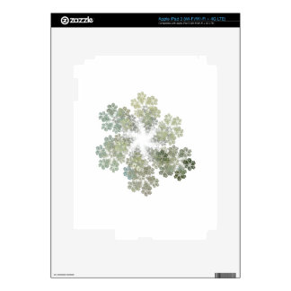 Snowflake Clusters Skins For iPad 3
