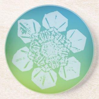 Snowflake Coaster 4 coaster