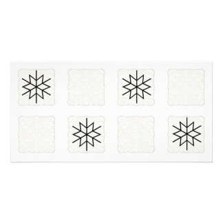 SnowFlake Collage Photo Collage Card Photo Card