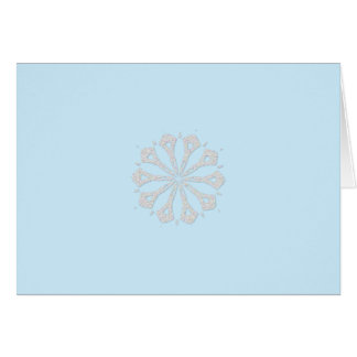Snowflake  Collection Card