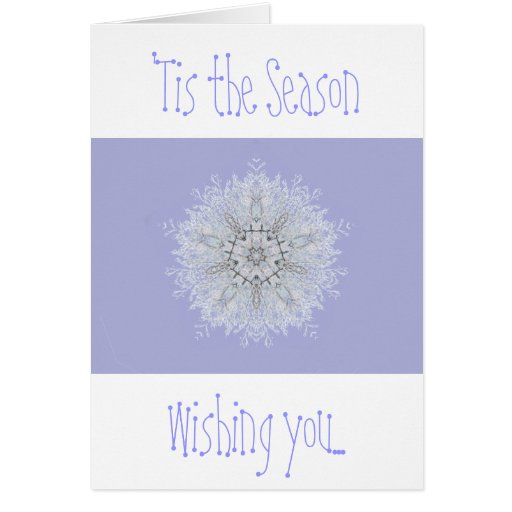 Snowflake Collection (small design) Greeting Cards