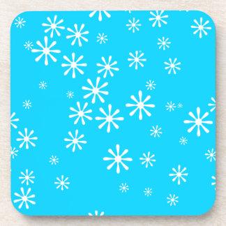 Snowflake Cork Coasters