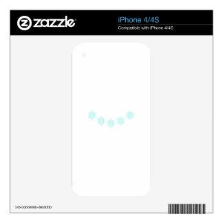 SNOWFLAKE CREW NECK iPhone 4 SKINS