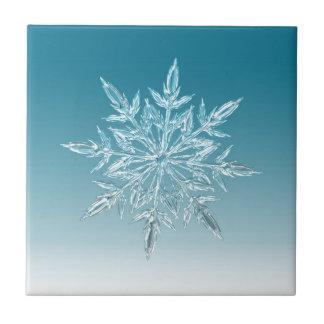 Snowflake Crystal Ceramic Tile