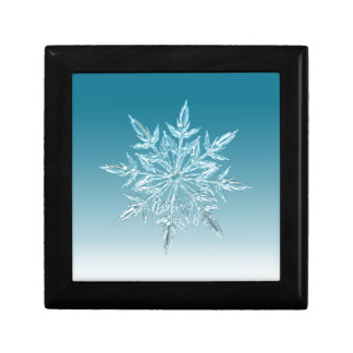 Snowflake Crystal Jewelry Box