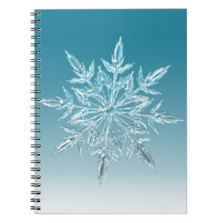Snowflake Crystal Notebook