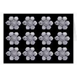 Snowflake Crystal Photos Cards