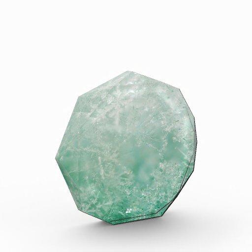 Snowflake Crystals Acrylic Award