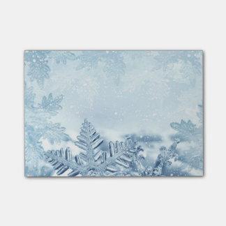 Snowflake Crystals Post-it® Notes