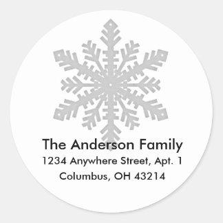 Snowflake D2 Return Address Labels