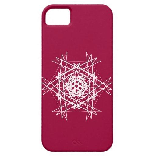 Snowflake Design 10 iPhone 5 Cases