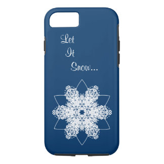 Snowflake Design 7 iPhone 8/7 Case
