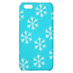 Snowflake Design Cover For iPhone 5C