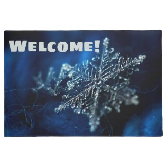 Snowflake Doormat