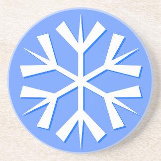 Snowflake Drink Coaster