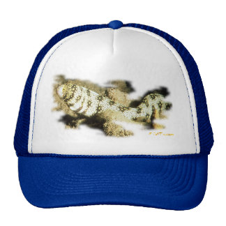 Snowflake Eel Trucker Hat