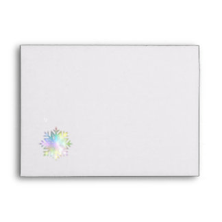 Snowflake Envelope