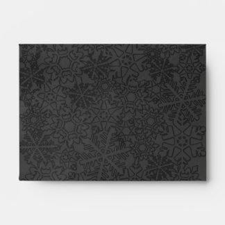 Snowflake Envelope-A6