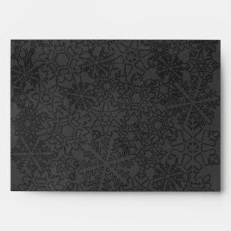 Snowflake Envelope-A7 Greeting card