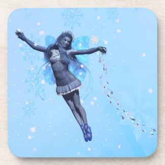Snowflake Faerie Coaster