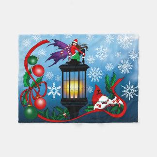 Snowflake Fairy Fleece Blanket
